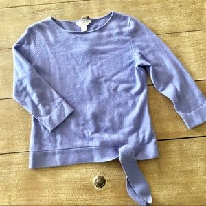 Petite Sophisticated lavender 100% cashmere S